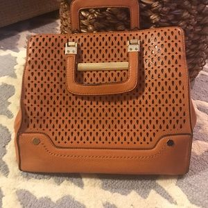 Handbags - Camel color satchel type handbag
